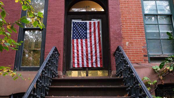 Предвыборная агитация в США - Sputnik Latvija