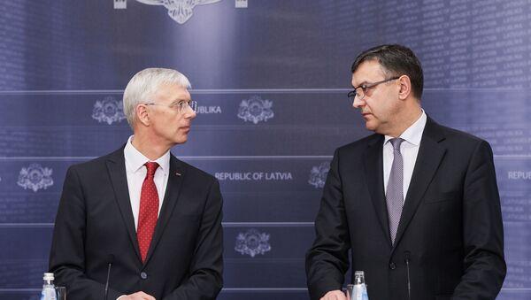 Кришьянис Кариньш и Янис Рейрс - Sputnik Латвия