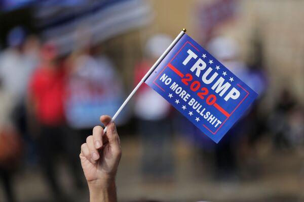 Протестная акция сторонников Дональда Трампа в Атланте - Sputnik Латвия