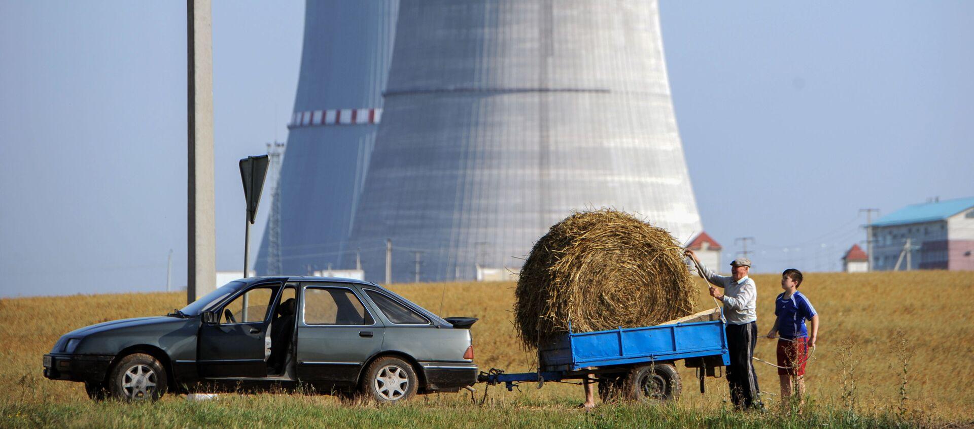 Белорусская АЭС - Sputnik Латвия, 1920, 09.11.2020