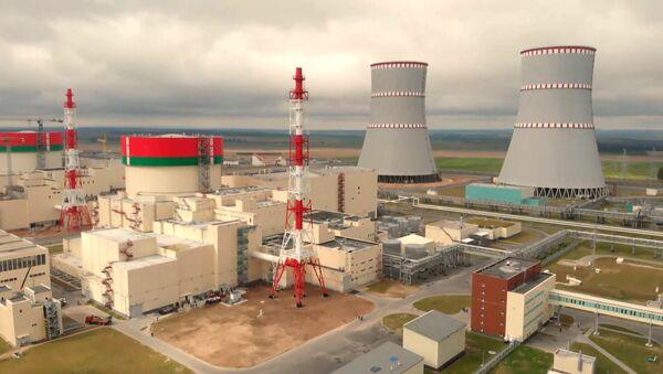 Историческое событие: Лукашенко торжественно открыл Белорусскую АЭС - Sputnik Latvija