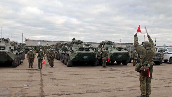 Отправка миротворцев в Нагорный Карабах - Sputnik Латвия
