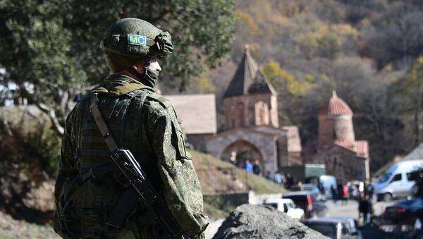 Российские миротворцы в Нагорном Карабахе - Sputnik Латвия
