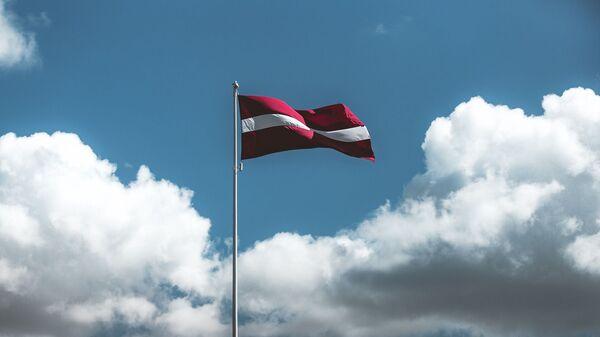 Флаг Латвии, архивное фото - Sputnik Латвия