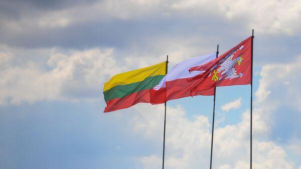 Флаги Польши и Литвы - Sputnik Латвия