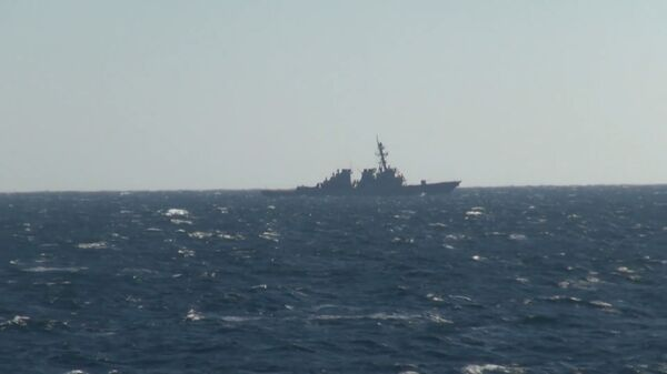 Российские моряки остановили американское вторжение: провокация в заливе Петра Великого - Sputnik Latvija