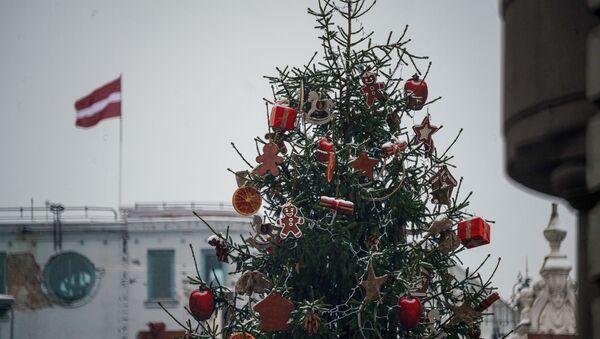 Первый снег в Риге - Sputnik Latvija