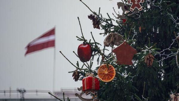 Первый снег в Риге - Sputnik Латвия
