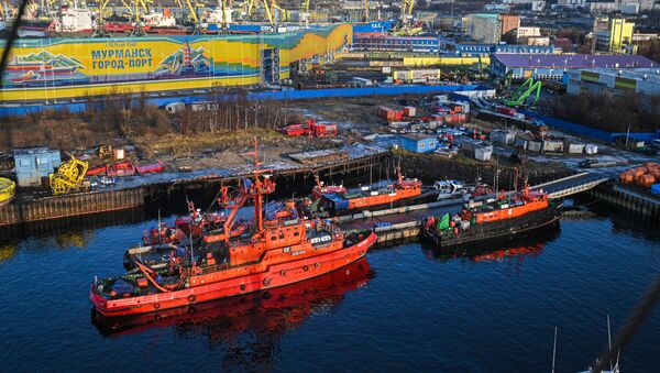 Мурманский морской торговый порт - Sputnik Latvija
