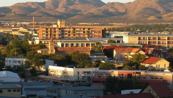 Виндхук - столица Намибии. - Sputnik Латвия