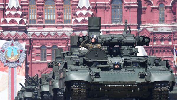 Военный парад в ознаменование 75-летия Победы - Sputnik Latvija