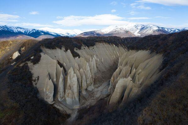 Уникальный природный объект Кутхины баты Южно-Камчатского федерального заказника  - Sputnik Latvija