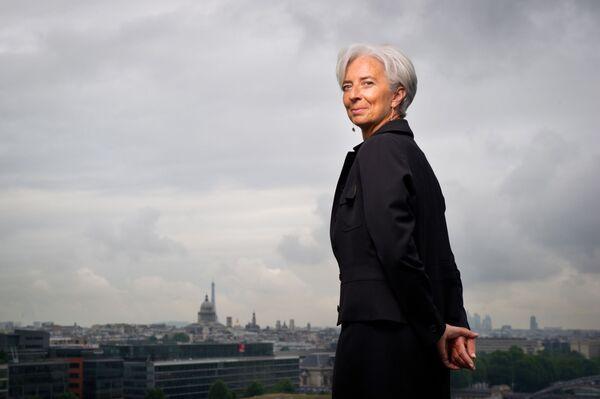 Francijas ekonomikas un finanšu ministre Kristīne Lagarda - Sputnik Latvija