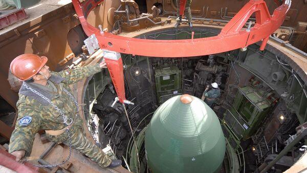 Подготовка к запуску ракеты - Sputnik Latvija