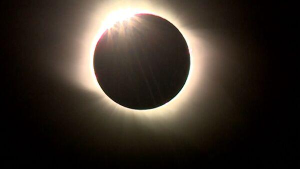 Saules aptumsums Argentīnā  - Sputnik Latvija