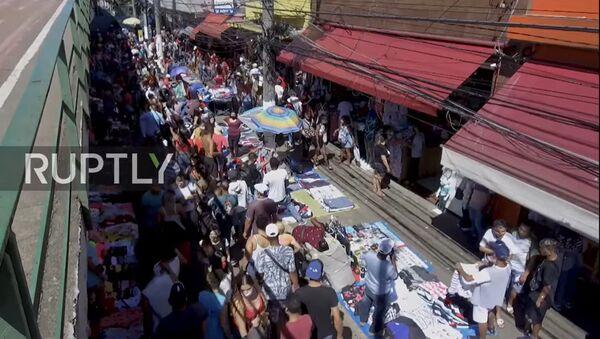 Brazil: Crowds seen Christmas shopping despite spike in coronavirus cases - Sputnik Latvija