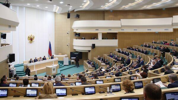 Заседание Совета Федерации РФ - Sputnik Латвия