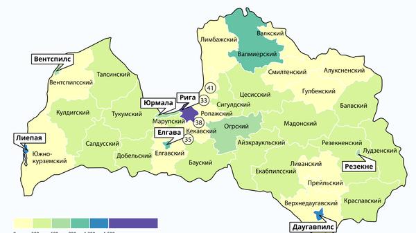 Сколько школьников в новых регионах Латвии - Sputnik Латвия