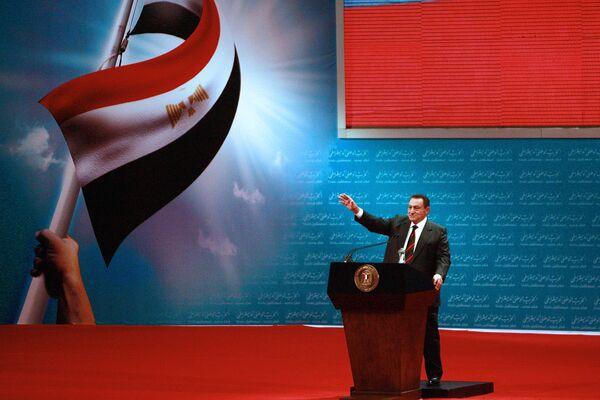Ēģiptes prezidents Hosnijs Mubaraks miris 25. februārī 91 gada vecumā.  - Sputnik Latvija