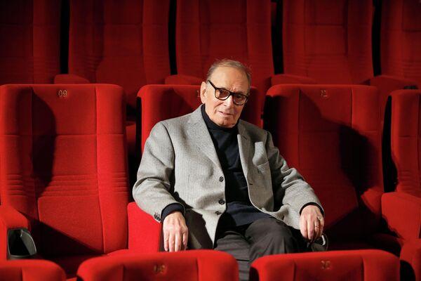 Itāļu komponists un diriģents Ennio Morrikone miris 6. jūlijā. Viņš bija 91 gadu vecs - Sputnik Latvija