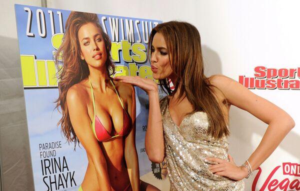 Ирина Шейк на вечеринке Sports Illustrated в Нью-Йорке - Sputnik Латвия