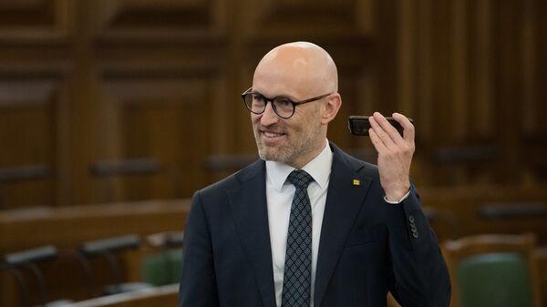 Министр здравоохранения Латвии Даниэль Павлютс - Sputnik Латвия