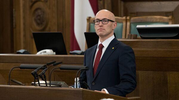 Министр здравоохранения Латвии Даниэль Павлютс - Sputnik Latvija