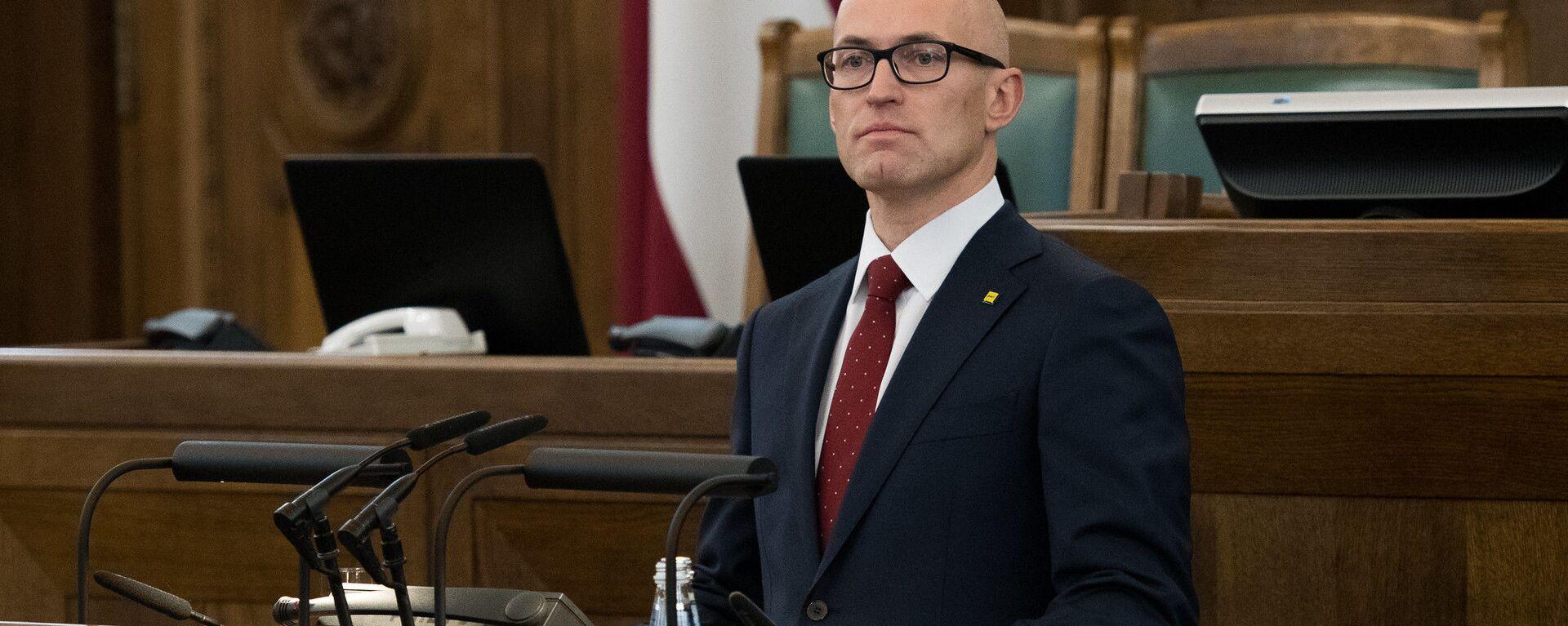 Министр здравоохранения Латвии Даниэль Павлютс - Sputnik Latvija, 1920, 14.05.2021