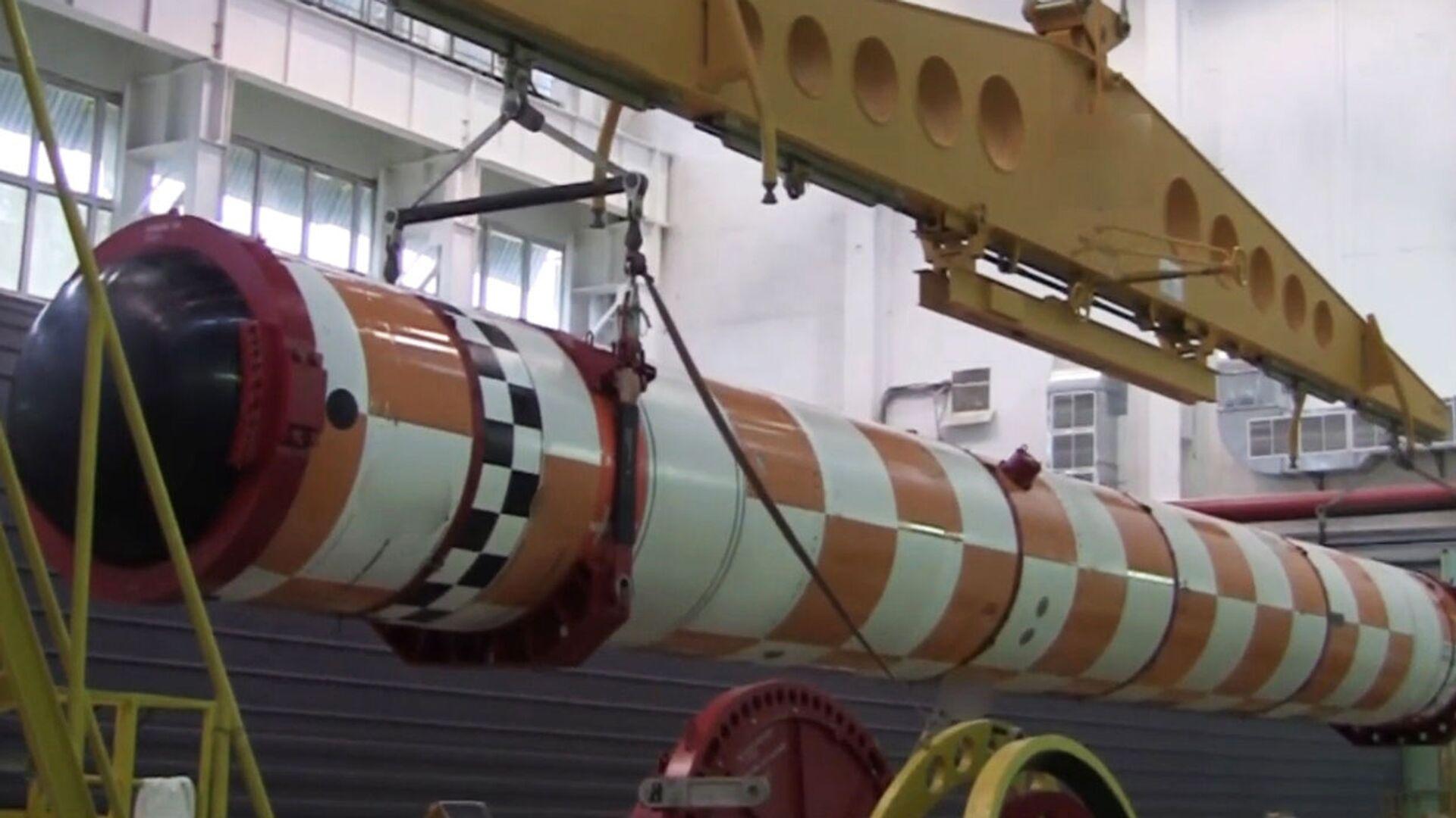 Полигонные испытания комплекса «Посейдон» - Sputnik Latvija, 1920, 10.04.2021