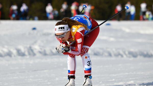Латвийская лыжница Патриция Эйдука - Sputnik Латвия