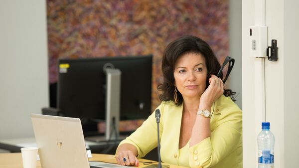 Министр благосостояния Латвии Рамона Петравича - Sputnik Латвия