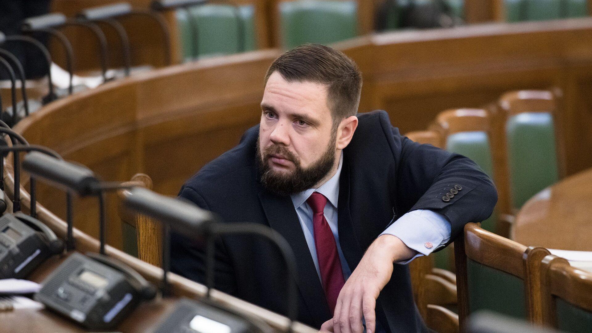 Министр экономики Латвии Янис Витенбергс - Sputnik Латвия, 1920, 11.05.2021