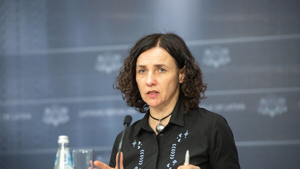 Министр образования Латвии Илга Шуплинска - Sputnik Латвия