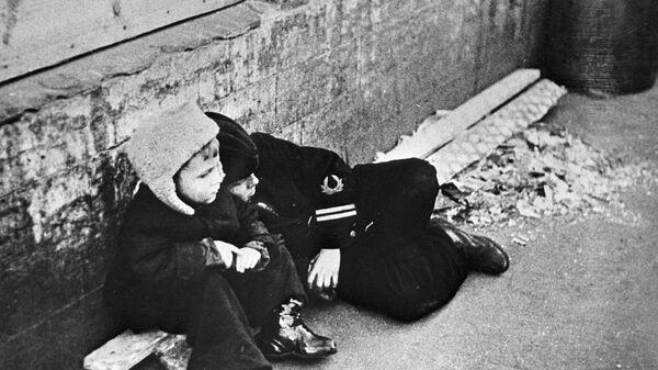 Дети в блокадном Ленинграде - Sputnik Латвия