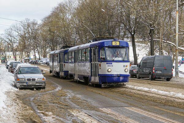 Трамвай зимой в Риге - Sputnik Латвия