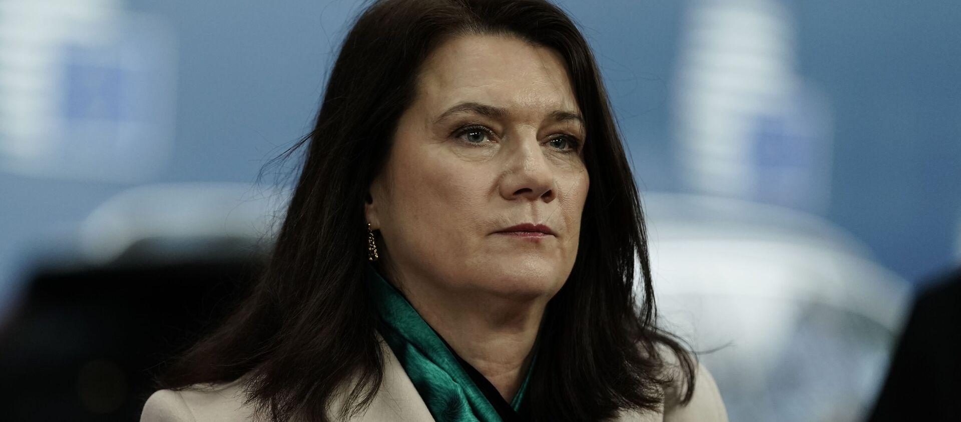 Министр иностранных дел Швеции Анн Линде - Sputnik Латвия, 1920, 02.02.2021
