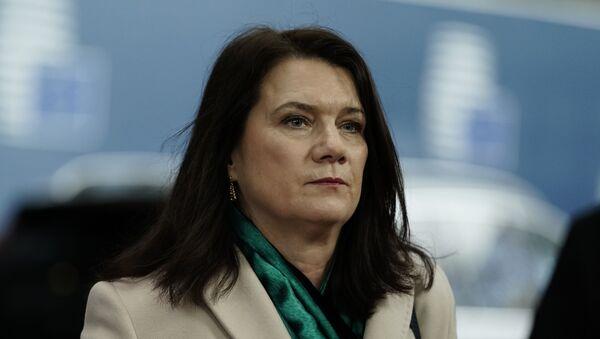 Министр иностранных дел Швеции Анн Линде - Sputnik Латвия