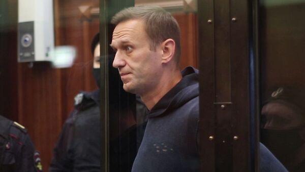 Заседание суда по делу Алексея Навального - Sputnik Latvija