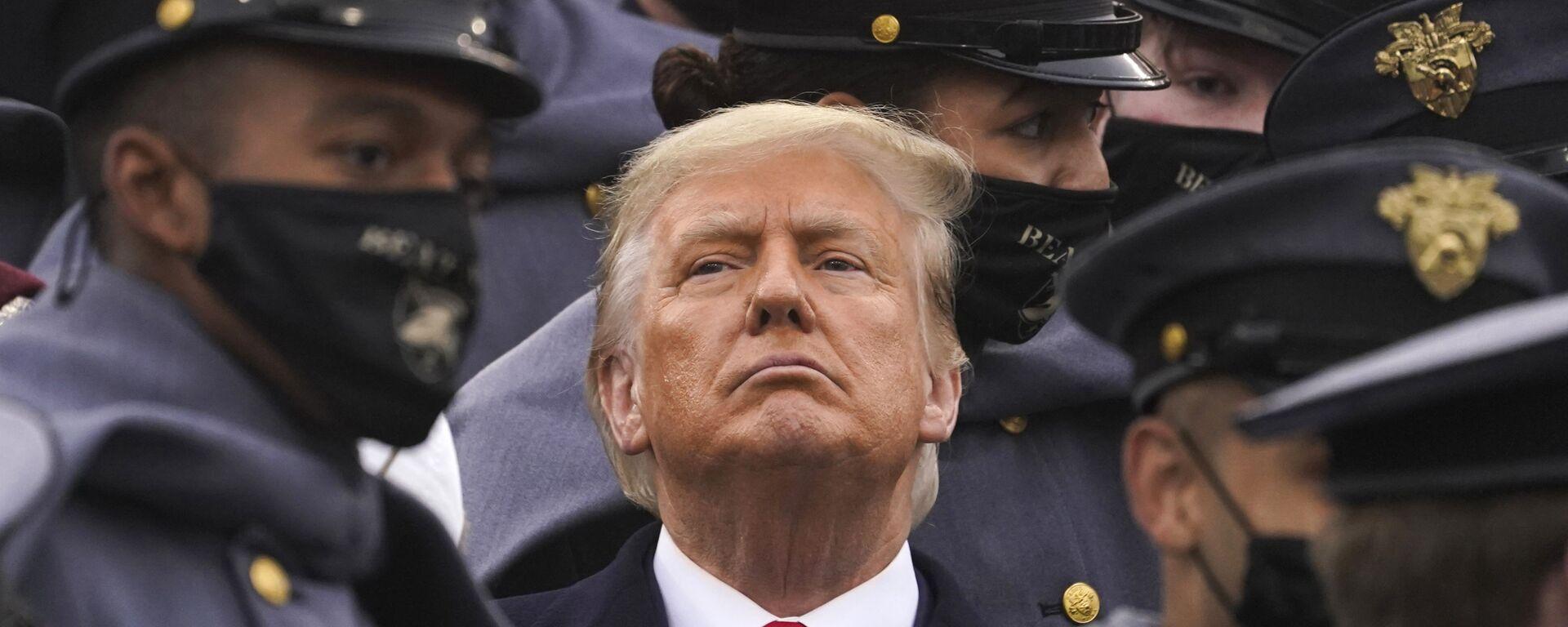 ASV bijušais prezidents Donalds Tramps - Sputnik Latvija, 1920, 26.09.2021