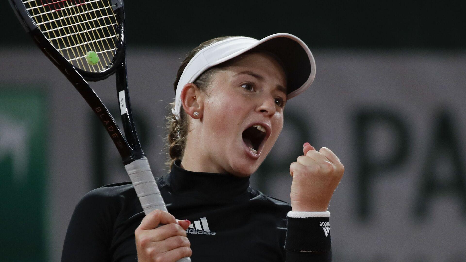 Латвийская теннисистка Елена Остапенко - Sputnik Латвия, 1920, 01.06.2021