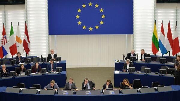 Eiropas Parlamenta sēde - Sputnik Latvija