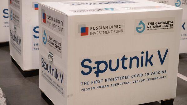 Груз с российской вакциной Sputnik V, предназначенной для отправки за границу - Sputnik Латвия