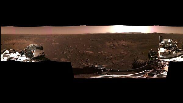 Сморите, как выглядит Марс: кадры с марсохода NASA Perseverance - Sputnik Латвия