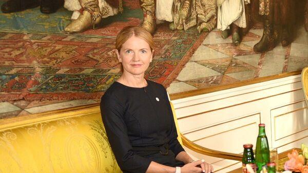 Министр иностранных дел Эстонии Эва-Мариа Лийметс - Sputnik Latvija