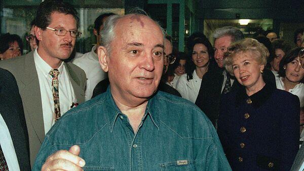 Горбачев 6 ноября 1997 года в Берне, Швейцария - Sputnik Latvija