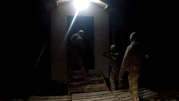 Я - смертник: кадры задержания террориста в Калининградской области - Sputnik Латвия