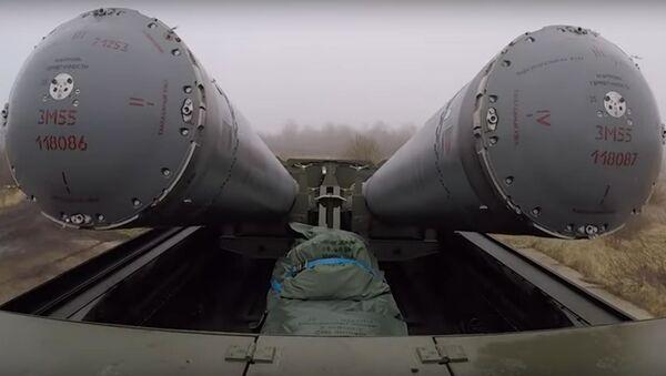 Ракетчики Балтфлота развернули Бастионы на Балтийском побережье - Sputnik Latvija