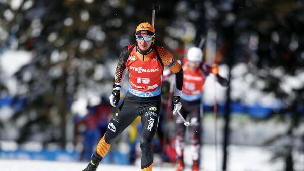 Латвийский биатлонист Андрей Расторгуев - Sputnik Латвия