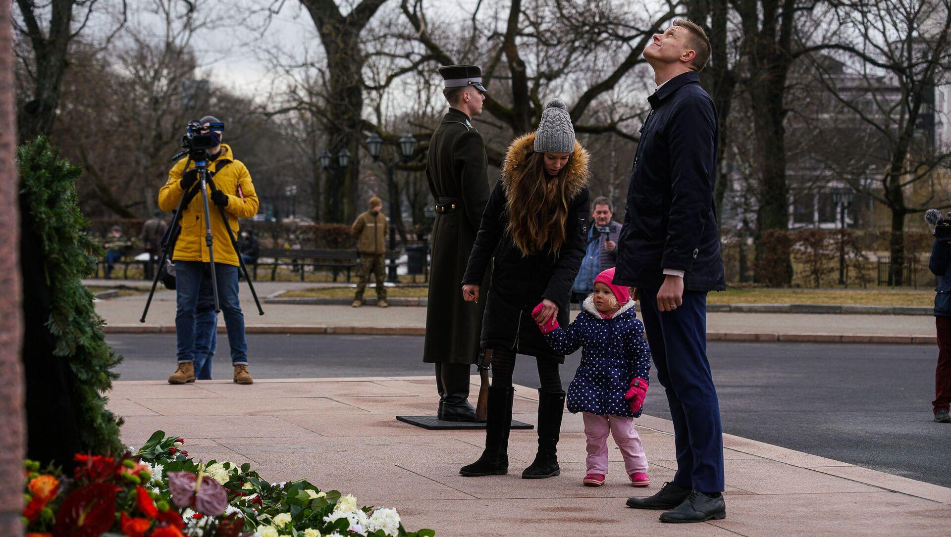 День памяти латышских легионеров Waffen SS в Риге, 16 марта - Sputnik Латвия, 1920, 18.03.2021