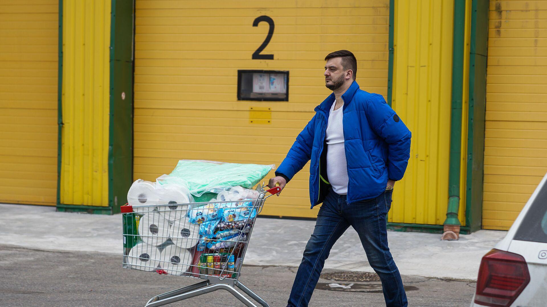 В Риге открылся российский магазин-дискаунтер торговой сети Mere - Sputnik Latvija, 1920, 13.05.2021